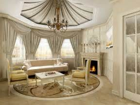 Home Room Decor by Alluring Living Room With Classy Home Decor With Fabric