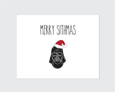 printable star wars christmas cards star wars christmas card printable by