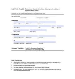 Printable Divorce Papers 40 Free Divorce Papers Printable Template Lab