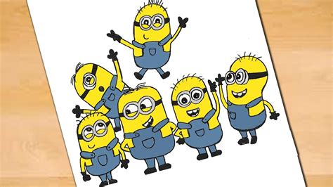 Minions Doodle Learn To Draw Minions