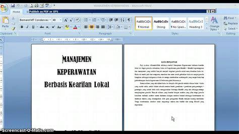 cara membaca ebook format jar cara mudah membuat ebook dengan ms word youtube