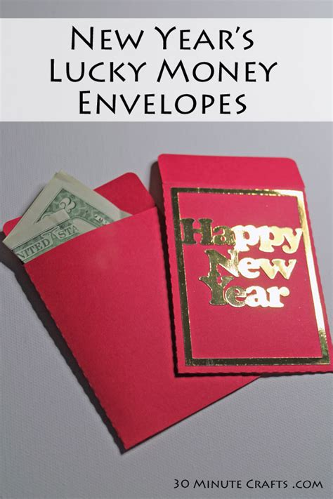 new year envelopes to make new year s lucky money envelopes 30 minute crafts