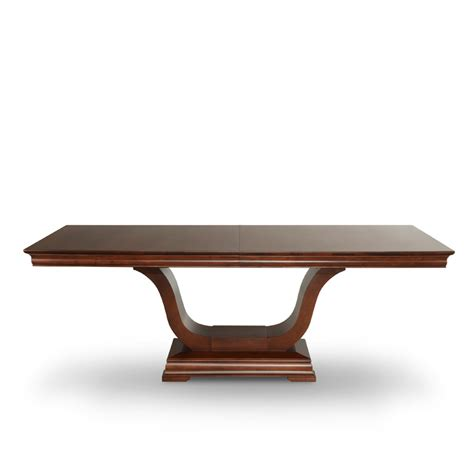 royal pedestal dining table solid wood table woodcraft