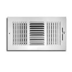 truaire 10 in x 4 in 3 way wall ceiling register h103m