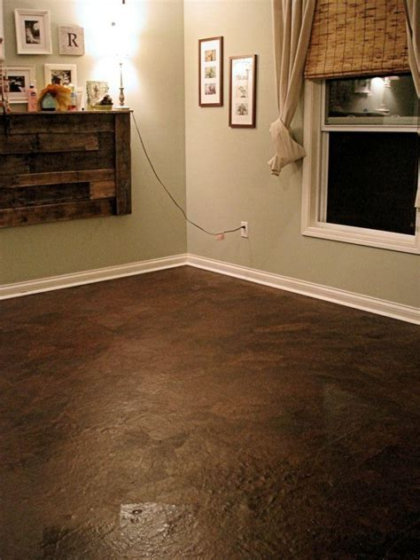Pictures Of Brown Paper Bag Flooring by Paper Bag Flooring Upcycle Central Transform Brown