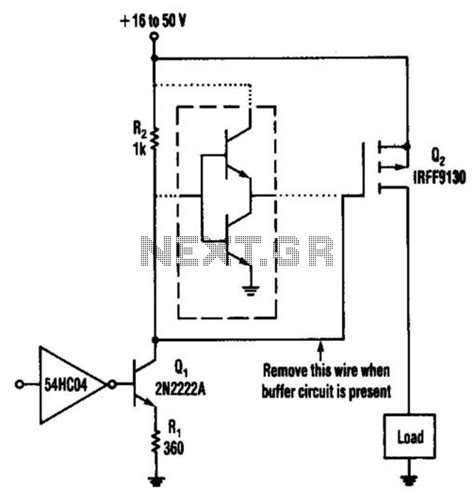 transistor fet driver circuit gt other circuits gt mosfet circuits gt low level power fet driver method l14148 next gr