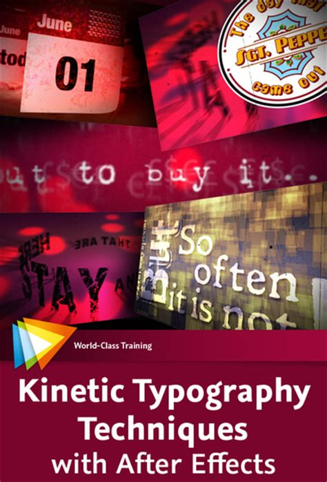 kinetic typography tutorial after effects pdf video2brain kinetic typography techniques with after