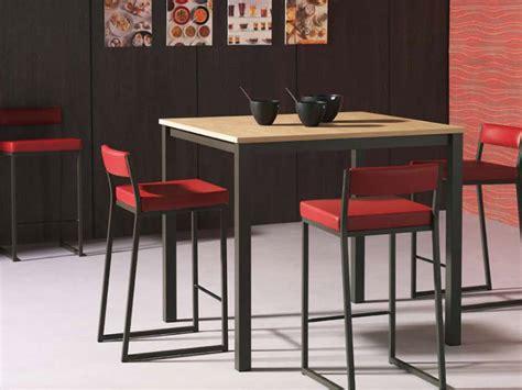 cuisine table haute table et chaise haute pour cuisine