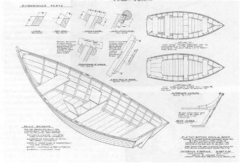 dory boat plans building small wooden boats ysopaxif