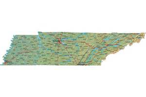 A Map Of Tennessee by Map Of Tn Related Keywords Amp Suggestions Map Of Tn Long