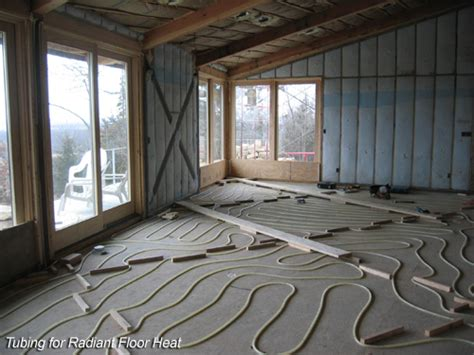 How Do Heated Floors Work by Temperature