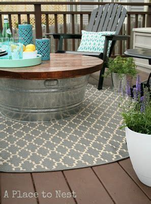 patio table ideas 25 best ideas about outdoor coffee tables on