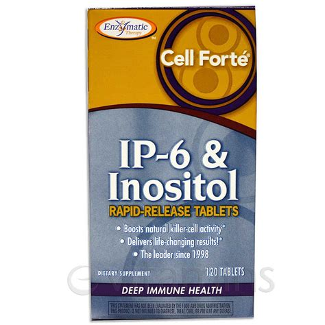 Ip I 353 enzymatic therapy cell forte with ip 6 inositol 120