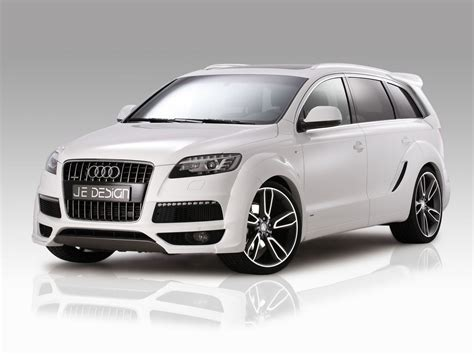 audi q7 modified audi q7 je design modifiyeli otomobiller modified