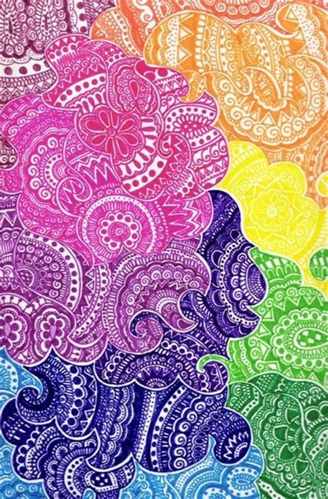 doodle name adrian colour design pattern image 496317 on favim