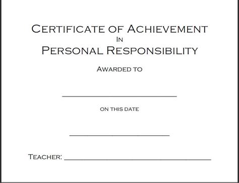 free educational certificate templates character and other award certificates