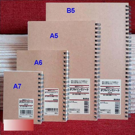 aliexpress buy muji notebook a5 a6 a7 b5 ruled paper
