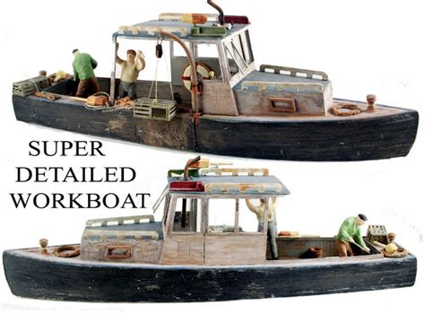 ho scale boat kits ho scale boat series the lobster boat kit