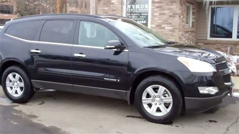 how cars engines work 2009 chevrolet traverse navigation system 2009 chevrolet traverse lt w 1lt awd youtube