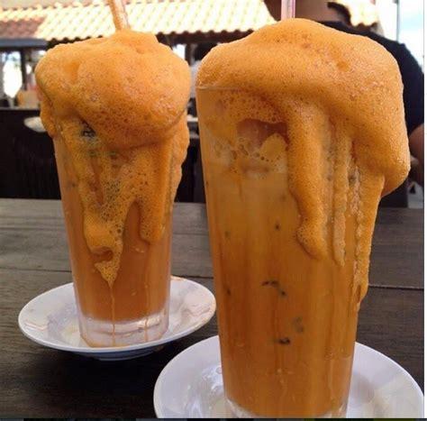 Teh Madu teh tarik madu pak mat pcb delicious food in malaysia
