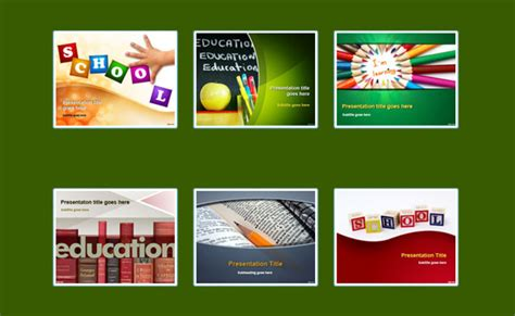 Best Free Powerpoint Templates For Teachers Free Educational Powerpoint Templates