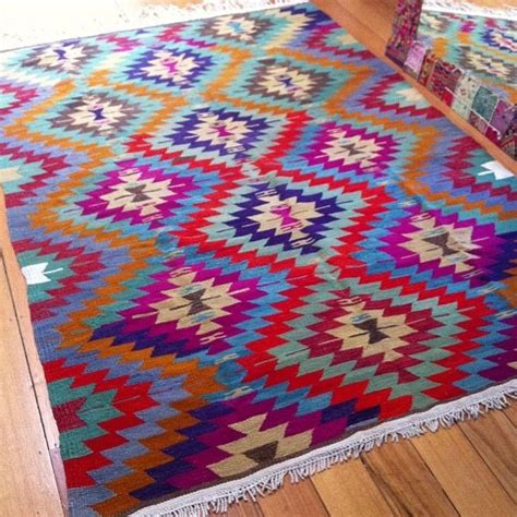 Bright Aztec Rug by Aztec Rug A Must For Any Apartment Apartment Decor