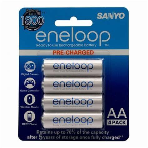 Baterai Batere Sanyo Enelop Aa Rechargeable Bisa Di Cas Ulang 1 sanyo eneloop ni mh rechargeable batteries