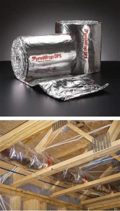 Kitchen Exhaust Insulation Fyrewrap 174 Dps Insulation Dryer Plenum Systems