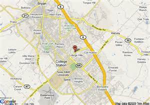 map of residence inn bryan college station college station