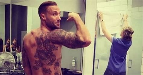 Looks Like Calum Best Is A Coke by Calum Best Flashes Bum In Cheeky Picture But Why Is