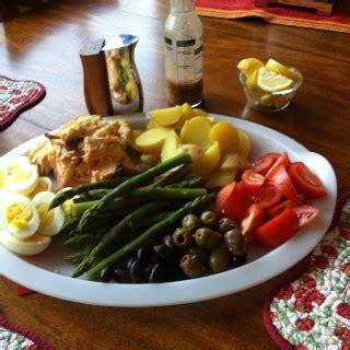 roasted salmon nicoise platter recipe ina garten food 353 fantastiche immagini su barefoot contessa su pinterest