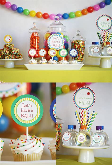 Birthday Decorations by Best 25 Colorful Birthday Ideas On