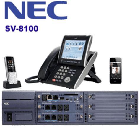 Pabx Nec by Nec Pbx Dubai Nec Sv8100 Ip Pbx System Uae