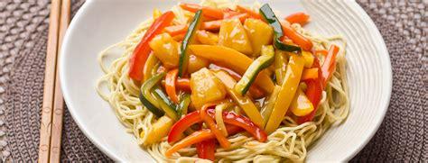 comment cuisiner avec un wok recette de wok de l 233 gumes sauce aigre douce