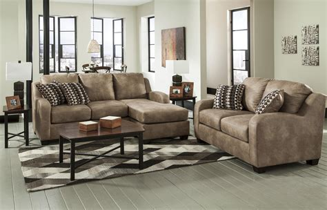 benchcraft alturo  contemporary faux leather loveseat dunk bright furniture love seats