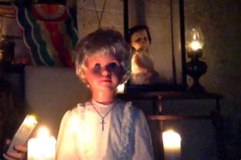 haunted doll causes chest haunted doll causes chest pains sickness and visions