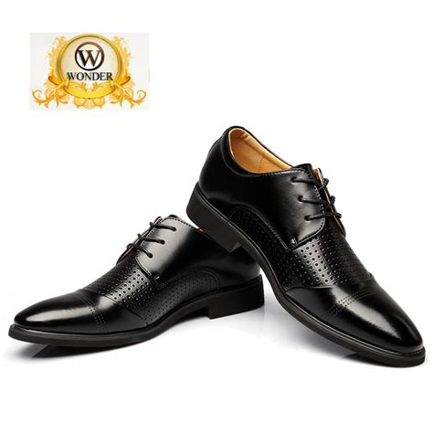 business formal leather shoes wedding leather