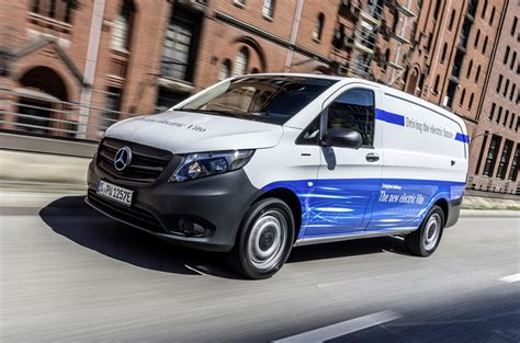 mercedes benz eqv electric people carrier due  geneva