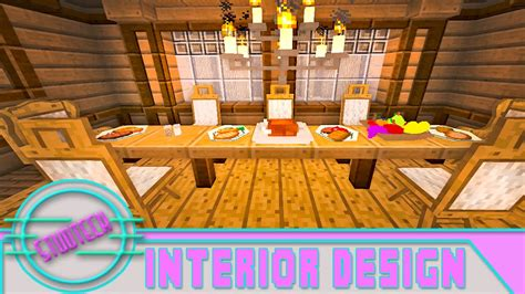 How To Make Dining Room In Minecraft Modded Minecraft Dining Room Furniture Design Ideas