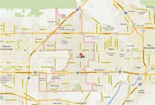 map of fontana california fontana california map