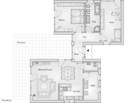 moderne bungalows grundrisse bungalow moderner bungalow pultdach schl 252 sselfertiges