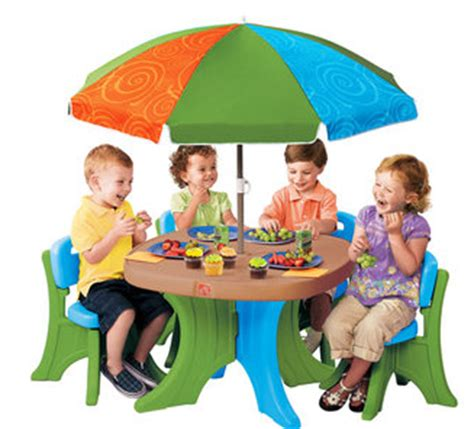 step 2 deluxe play shade patio set 65 from 79