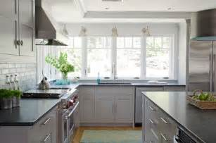 Light Grey Cabinets In Kitchen Light Grey Kitchen Cabinets Contemporary Kitchen Crestin Design