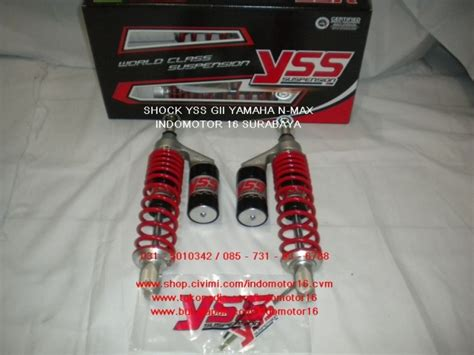 Shock Yss G Plus Gii Series Yamaha N Max shock yss g plus gii series yamaha n max indomotor 16 shop