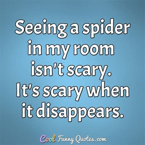 spider   room isnt scary  scary   disappears
