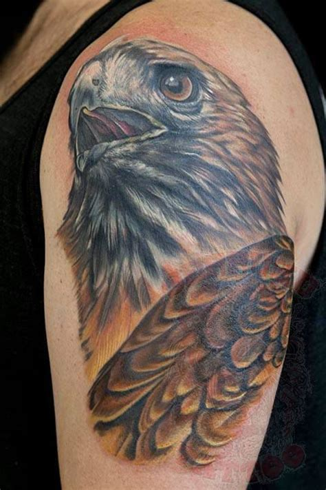 red tail hawk tattoo meaning