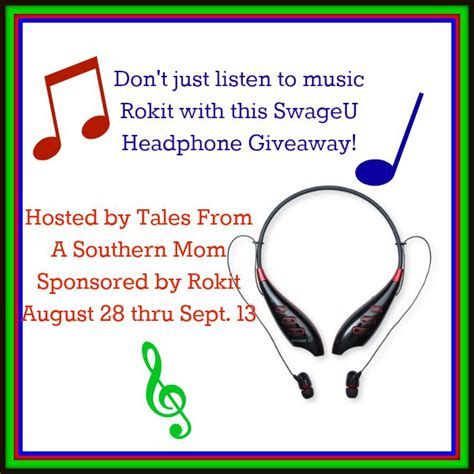 Headphone Giveaway - rokit swageu headphone giveaway 9 13 tales from a