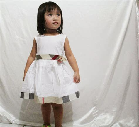 Pakaian Anak Perempuan Dress Hitam Burberry Tania Burbery Dress Sl jual baju anak umur setahun 1 th pakaian anak balita satu tahun 1 thn perempuan