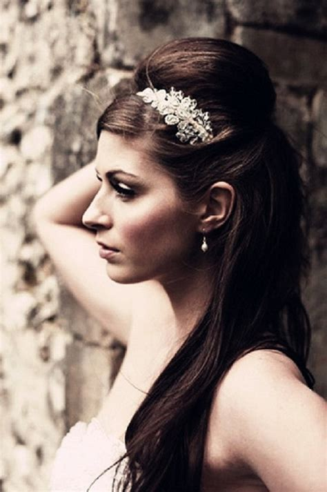 wedding hairstyles down and straight 30 wedding hairstyles for long hair easyday