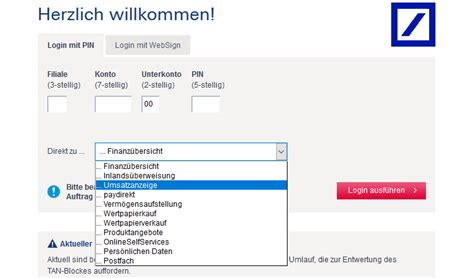 deutschen bank login deutsche bank brokerage comdirect